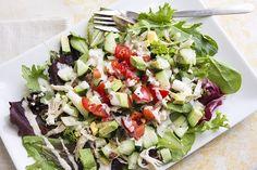 Recipe: Skinny Cobb Salad
