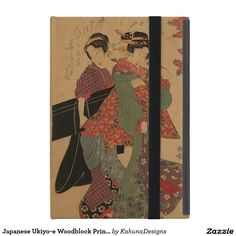 Japanese Ukiyo-e Woodblock Print Series Five Cover For iPad Mini