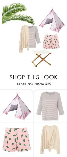 """""""Glamping in Style"""" by lianvalent ❤ liked on Polyvore featuring interior, interiors, interior design, home, home decor, interior decorating, Sebra, Chinti and Parker, American Retro and Serena & Lily"""
