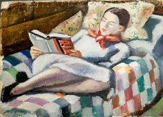 Reading and Art - Emil Holzhauer