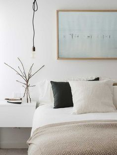 Simple and Impressive Tips Can Change Your Life: Industrial Minimalist Bedroom House Tours minimalist kitchen industrial islands.Minimalist Bedroom Black And White minimalist home ideas shelves.Minimalist Home Ideas Shelves. Bedroom Inspo, Home Decor Bedroom, Bedroom Furniture, Bedroom Ideas, Bedroom Apartment, Bedroom Designs, Dream Bedroom, Bedroom Wall, Ikea Bedroom Design
