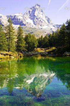 Blue Lake - Cervinia Italy www.eliteholiday.net