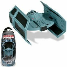TITANIUM SERIES STAR WARS 3INCH VEHICLES - DARTH VADERS TIE-FIGHTER by Hasbro. $23.28. Complete with a display stand, this is one awesome die-cast vehicle for your collection. When the Rebel forces set out to destroy the Death Star, Imperial gunners find it difficult to hit the small X-wing fighters. Vader is successful in taking out several X-wing fighters, but his efforts are thwarted when a shot from the Millennium Falcon sends him spinning off into space. Take to the ski...