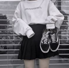 image November 11 2019 at fashion-inspo Edgy Outfits, Grunge Outfits, Korean Outfits, Mode Outfits, Skirt Outfits, Pretty Outfits, Fashion Outfits, Fashion Clothes, Summer Outfits