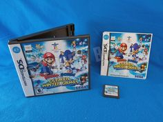 Nintendo DS Mario & Sonic at the Olympic Winter Games Complete Good Condition