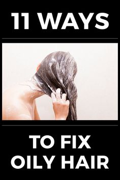 How to Get Rid of Oily Hair: 11 Secrets Revealed - Essentious hair tip of the day: Hyperactive sebaceous glands can be caused by genetics, diet, hygiene, and sometimes sickness. To learn more about how to fix oily hair, visit: http://essentious.com/blog/how-to-get-rid-of-oily-hair/ #howtogetridofoilyhair