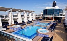 """Celebrity Cruises is sending its four newest Solstice Class ships along with two """"Solsticized"""" upgraded ships to the Caribbean from three homeports in 2012 and 2013. Description from seasiteblog.com. I searched for this on bing.com/images"""