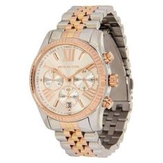 Michael Kors Watches : Michael Kors Womens Lexington Triology Watch Rose GoldSilverYellow Gold One Size Jewelry 2014, Jewelry Show, Jewelry Trends, Michael Kors Collection, Luxury Jewelry, Bling Jewelry, Handbags Michael Kors, Plaque, Quartz Watch