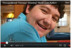 Video Worth Repeating: Shaving and Autism -  -  Pinned by @PediaStaff – Please Visit http://ht.ly/63sNt for all our pediatric therapy pins