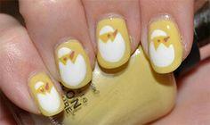 Sally Hansen Yellow Kitty or Yellow Chicky? Creative Nail Designs, Creative Nails, Nail Art Designs, Nail Manicure, Pedicure, Nail Polish, Easter Nail Art, Nail Pictures, Pointed Nails