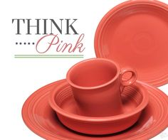 Pink fiesta, AWESOME Fiesta Colors, Homer Laughlin, Rainbow Colors, Dinnerware, Delish, Eye Candy, Tables, Shades, China