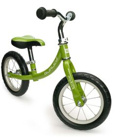 Burley Design MyKick Balance Bike, Summer Green - fun way to give your little ones a jump on riding a bike. Children gain confidence as they control scooting and stopping with their feet, and eventually learn to balance the bike with their feet off the ground.