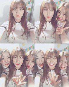 Eunseo, Yeoreum, and Yeonjung