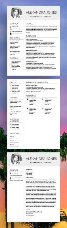 Nurse Resume Template - Medical cv - CV Template - Free Cover Letter - MS Word - Nurse cv - Doctor Resume - RN Resume - Creative Resume