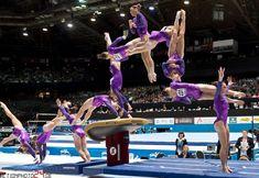 Vault in action! #gymnastics #gymnast