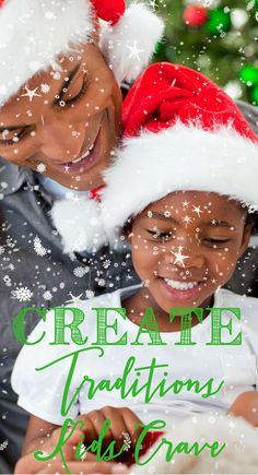 How To Create Amazing Christmas Traditions Your Kids Crave http://themidlifemamas.com/this-one-thing-makes-december-traditions-memorable/ Want to keep even the older kids craving family traditions at the  holidays? Here's the key! http://www.themidlifemam