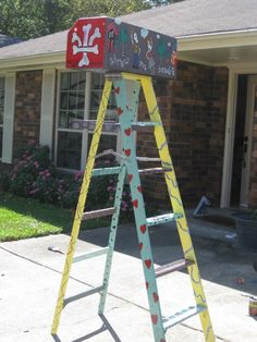 MaRDI GRaS LaDDER Stand out in a crowd with a one by grisgrisart, $400.00