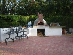 brick with cement/stuko dome and counter top