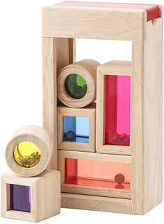 WOODEN RAINBOW STACKER Montessori Waldorf Wooden toys Sculpture Building Tunnel Arches Block Eco Organic Stacking /& Nesting Game Learning BEST TOY for toddlers Gift for Baby 12 Pcs Extra Large Natural