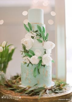 mint green, wedding ideas, wedding photos, white weddings, themed weddings, mint weddings, white wedding cakes, green weddings, natural beauty