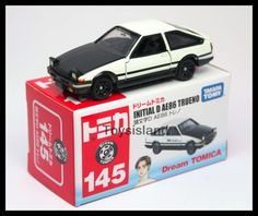 TOMICA-DREAM-145-Initial-D-TOYOTA-AE86-Trueno-1-61-TOMY-Diecast-Car-New