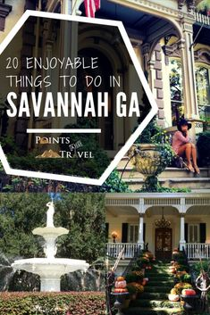 20 Awesome Things to do in Savannah, Georgia. In this Savannah travel guide, you'll find all the best Savannah, Georgia things to do. From southern food to historic houses to haunted mansions Us Travel Destinations, Places To Travel, Places To Go, Stuff To Do, Things To Do, Good Things, Ga In, Tybee Island, Beautiful Sites