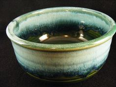Vintage Handmade Pottery Bowl Signed by KissingKansasWinds on Etsy, $14.99