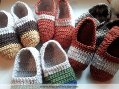 Womens Crochet Ballet Slippers « The Yarn Box The Yarn Box