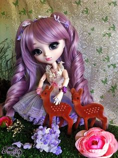 Super Sweet Pullip Nanette with Deers by Felicity