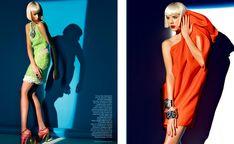 British Vogue • March 2009 | Photographer - Patrick Demarchelier