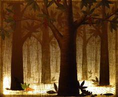Ambrosia Tree * Light series *  Barbara Gerodimou * www.gerodimou.com Tree Lighting, Oil On Canvas, Artwork, Artist, Twitter, Work Of Art, Auguste Rodin Artwork, Artists, Artworks