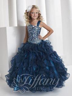 Blush Kids Inc. - Tiffany Princess 13332 Girls Glitz Pageant Dress,