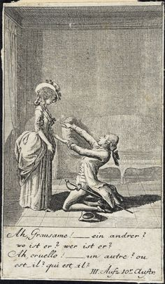 Plate 8 for C. L. Bretzners The Marriage Broker Alternate Title: Eheprocurator Daniel Nikolaus Chodowiecki (Germany, Danzig, 1726-1801) Germany, 1784 Prints; etchings