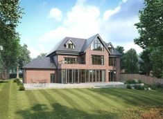 7 bedroom detached house for sale in 2 Burnthwaite Hall, Old Hall Lane, Lostock, Bolton, Lancashire - Rightmove House Plans Uk, Model House Plan, Bedroom House Plans, Dream House Plans, Grand Designs Houses, Modern Brick House, House Extension Plans, Bungalow House Design, Contemporary House Plans