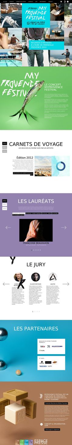 #ui #website My provence Festival
