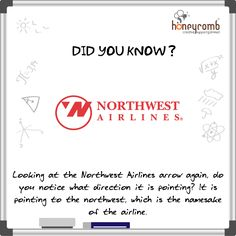 Hidden Meaning of Northwest Airlines logo Business Trip Packing, Business Travel, Digital Marketing Strategy, Digital Marketing Services, Northwest Airlines, Airline Logo, Web Design, Logo Design, Communication Design