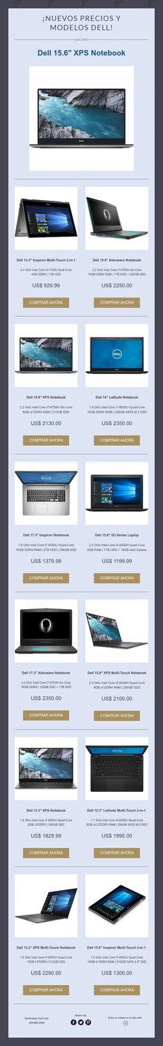 ¡Nuevos precios y modelosDELL!