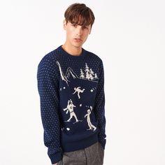 Snowball Lambswool Crew Sweater