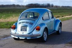 Vw Super Beetle, Beetle Bug, Volkswagen Beetles, Vw Bus, T2 T3, Van Life, Classic Cars, Automobile, Retro