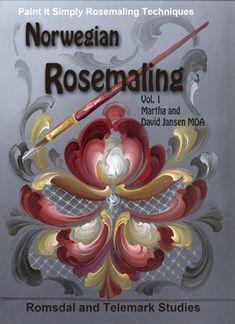 Jansen Art Online Store - B5005E- Norwegian Rosemaling Vol. 1-  Download, $14.95 (http://www.jansenartstore.com/b5005e-norwegian-rosemaling-vol-1-download/)
