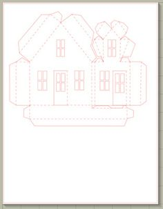 Ashbee Design Silhouette Projects: Ledge Village Dormer House Silhouette Tutorial