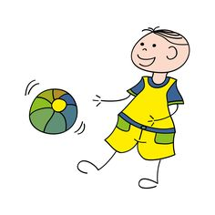 stock.xchng - Boy with ball (stock photo by Cieleke) [id: 1394643]