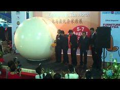 Inflatable Ball Launching Gimmick - YouTube