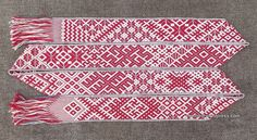 Lielvārdes belt for traditional Latvian hand binding wedding ceremony