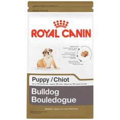 ROYAL CANIN BREED HEALTH NUTRITION Bulldog Puppy dry dog food *** Find out more details by clicking the image : Dog Food