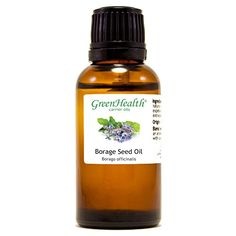 Borage Seed  1 fl oz 30 ml Glass Bottle w Euro Dropper  100 Pure Carrier Oil  GreenHealth *** Read more reviews of the product by visiting the link on the image.