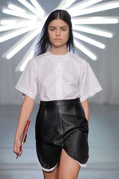 Rita Afonso 3 Waist Skirt, High Waisted Skirt, Portugal, Bloom, Ballet Skirt, Black And White, Skirts, Fashion, Black White