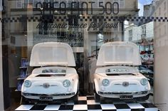 The SMEG 500 is currently on display in Colette, Paris