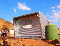Architecture For a Change Prefab in Mamelodi, Pretoria
