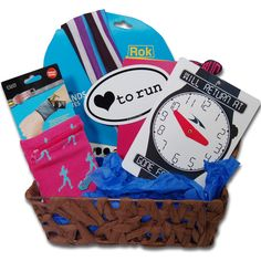 The LOVE TO RUN Gift Basket from Gone For a RUN!  #goneforarun